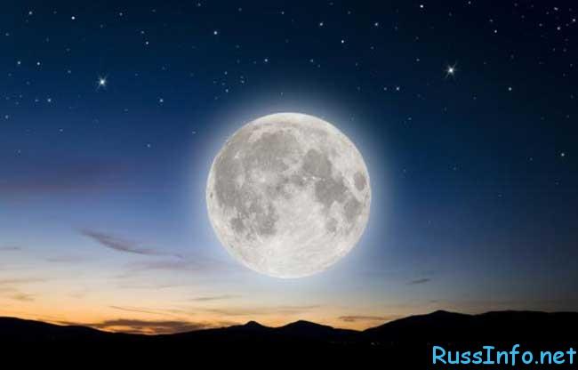 фазы Луны в 2016 году