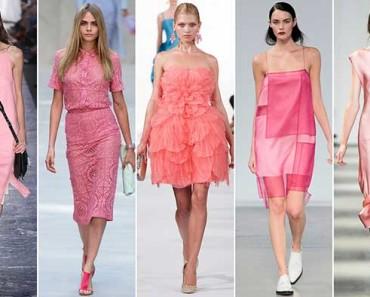 какие цвета в моде весна-лето 2018