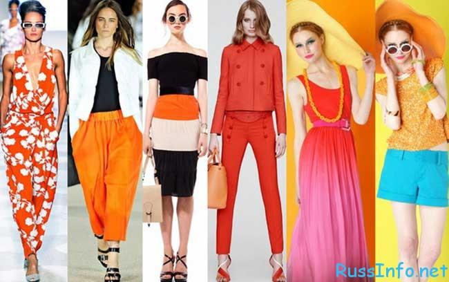 Какие цвета в моде весна-лето 2016