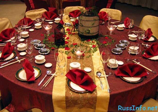 как правильно сервировать новогодний (праздничный) стол 2020