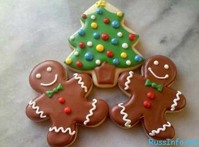 торты и печенье приготовить на Новый год 2019