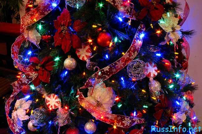 как нарядить новогоднюю ёлку 2020