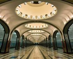схема метро Москвы в 2018 году