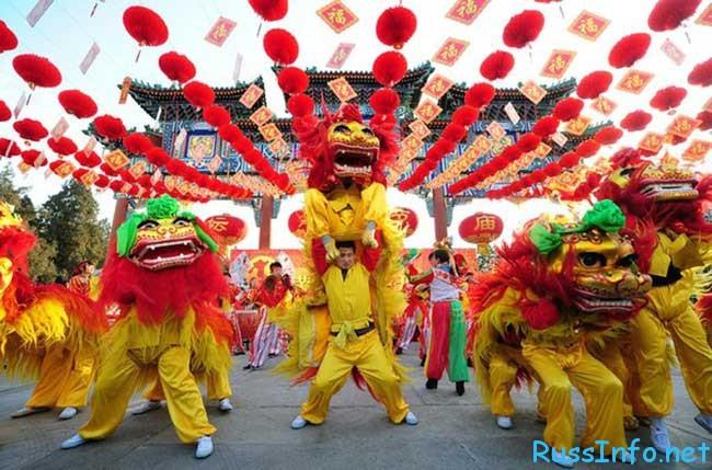 празднование китайский нового года 2019