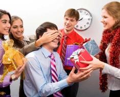 корпоративные бизнес подарки на Новый год 2018