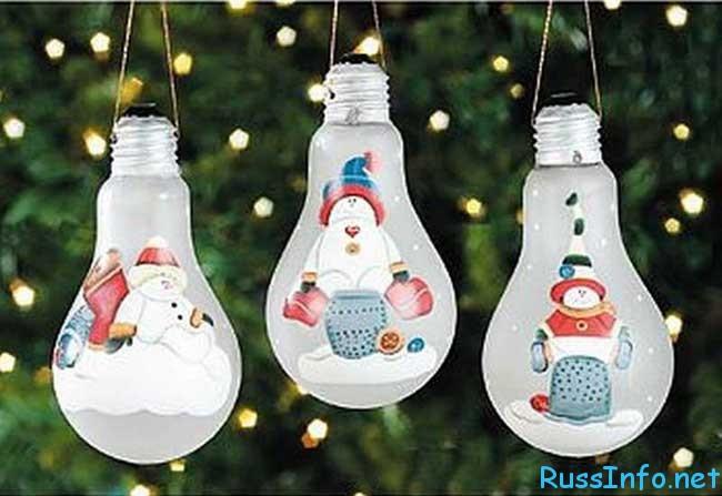 ёлочные (новогодние) игрушки на Новый год 2019 своими руками