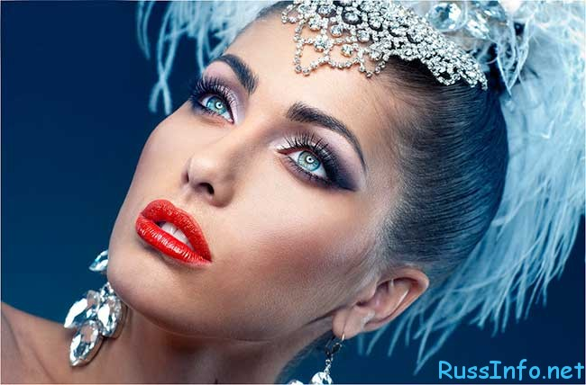 макияж в новогоднюю ночь 2020
