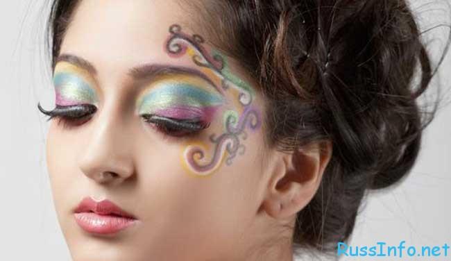 красивый и модный новогодний макияж