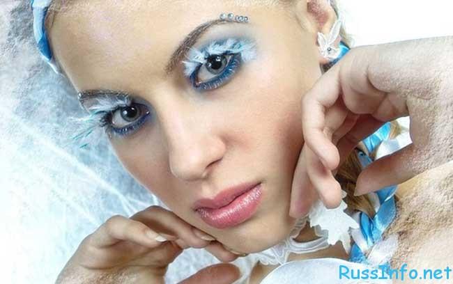 модный новогодний макияж 2020