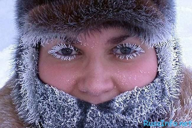 Зима в Сибири в 2018 году