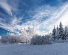 зима в Сибири сезона 2017–2018