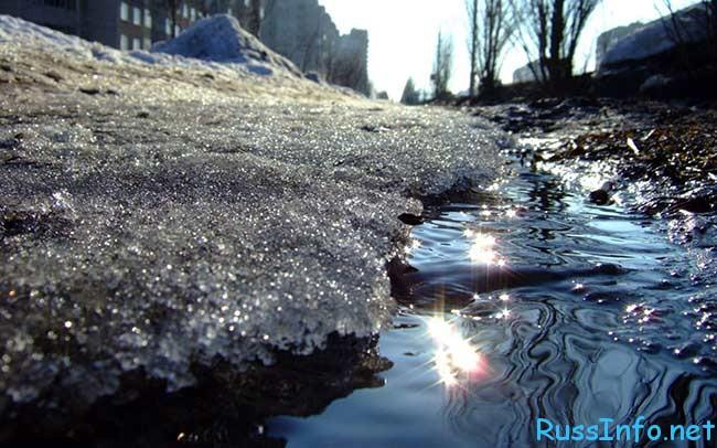 точный прогноз когда придет весна в Россию