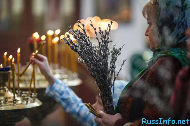дата праздника Вербное Воскресенье 2018