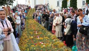 традиции празднования Успения Пресвятой Богородицы