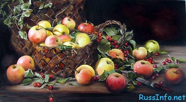 история праздника Яблочный Спас в 2020 году