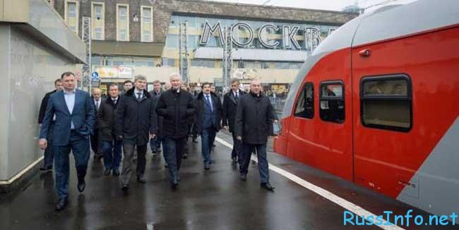 схема малой кольцевой железной дороги Москвы 2016, станции