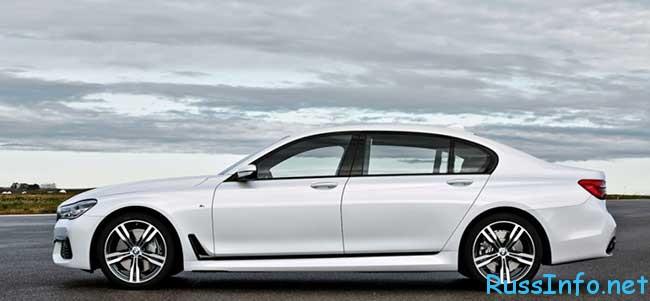 Новая BMW 7-Series 2016 года