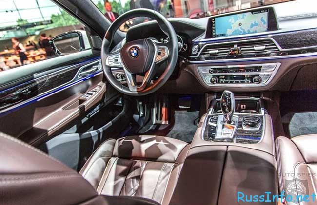 цена на новую БМВ 7 серии 2016 модельного года, фото
