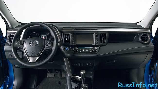новая Toyota Rav 4 2016 модельного года на фото