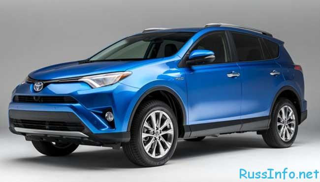 Новая Toyota Rav 4 2016 года