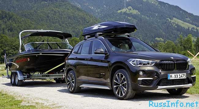 Новый BMW X1 2016 года