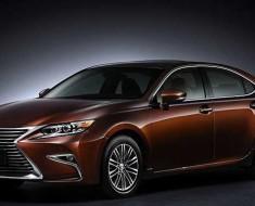 видео с новым Lexus ES 2016 года