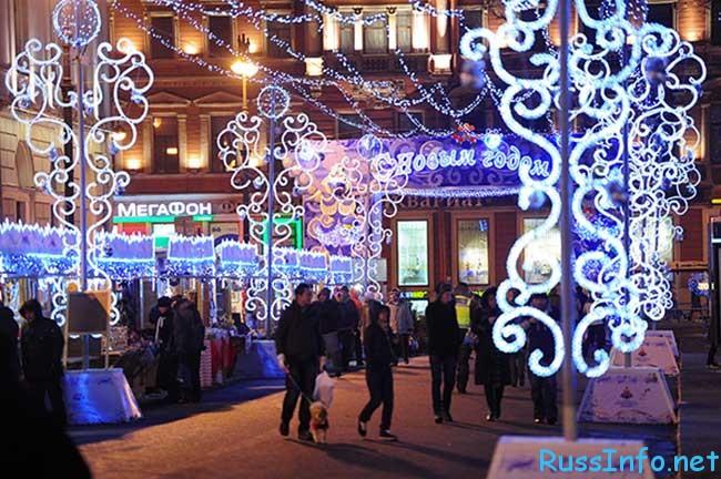 новогодней ярмарки в Санкт-Петербурге 2019-2020