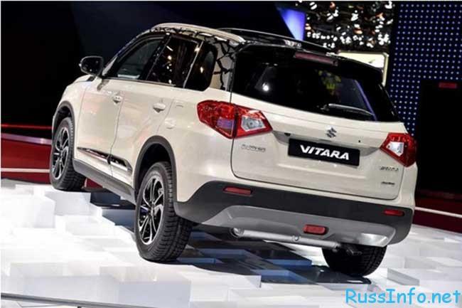 Новый Suzuki Vitara 2016 года