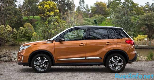 цена на новый Suzuki Vitara 2016 модельного года, фото