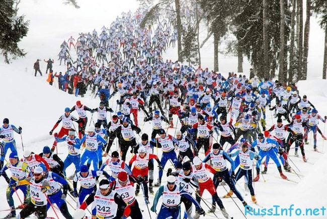 дата проведения Лыжни в России 2018 в Москве