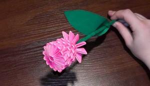 аппликация как подарок маме на 8 марта от подготовительной группы
