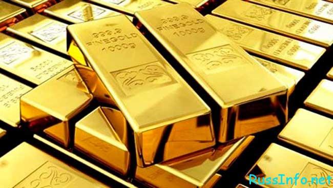 динамика золота в 2017 году