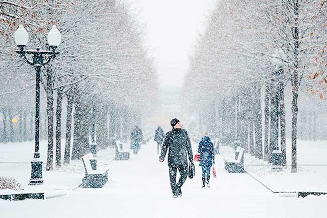 прогноз погоды зимой 2019