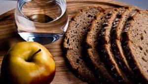 календарь питания по дням еды в Пост 2017