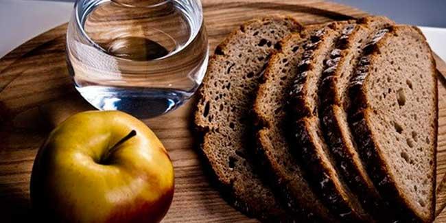 календарь питания по дням еды в Пост 2019