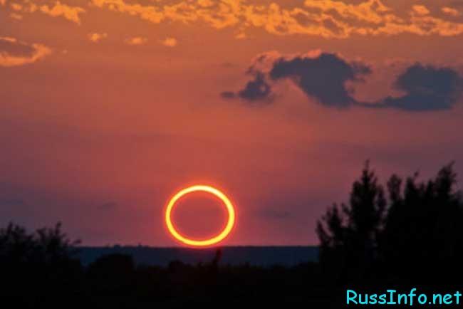 солнечные затмения в 2019 году