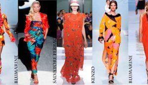 какие цвета в моде весна-лето 2017