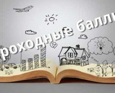 проходные баллы в вузы 2019 на бюджет г Санкт-Петербурга