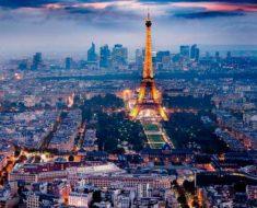 плотность населения Франции на 2019 год составляет