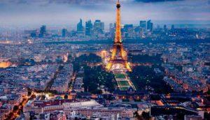 плотность населения Франции на 2017 год составляет
