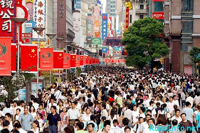 население Китая на 2019 год составляет