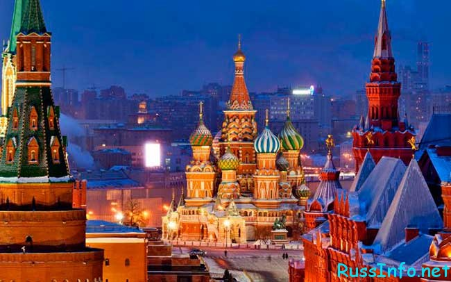 население Москвы на 2019 год составляет
