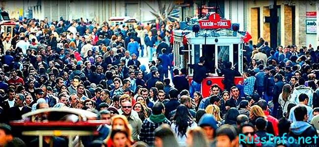 численность населения Турции на 2017 год составляет