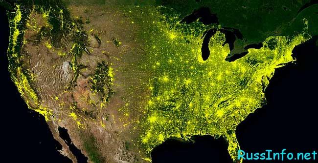 население США на 2019 год составляет