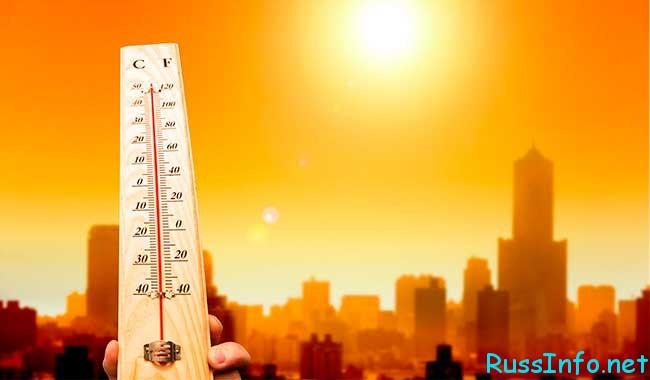 в августе 2020 года погода
