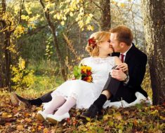свадьба в октябре 2018 года