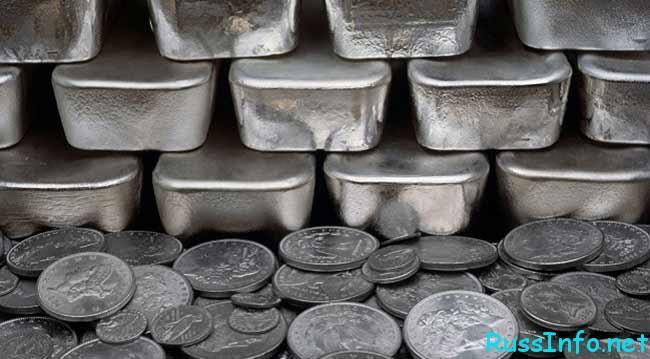 цены на серебро 2017 в России