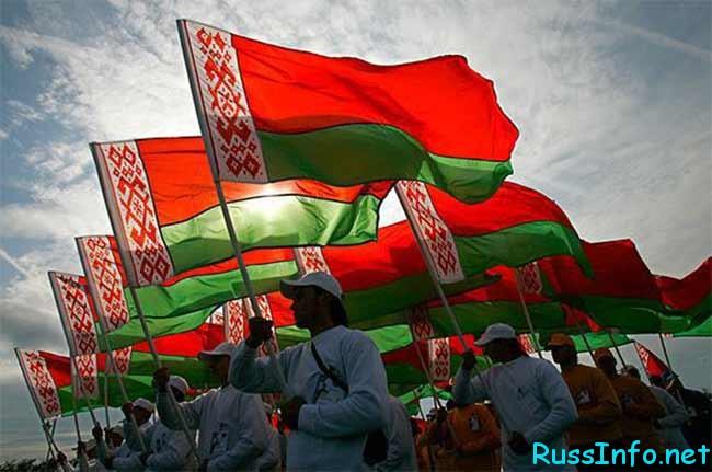 плотность населения Белоруссии на 2017 год составляет