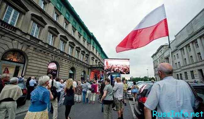 численность населения Польши на 2019 год составляет
