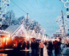 рождественская ярмарка в Санкт-Петербурге 2018-2019